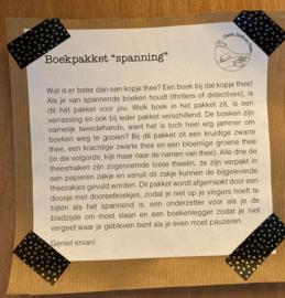 """Boekpakket """"spanning"""""""