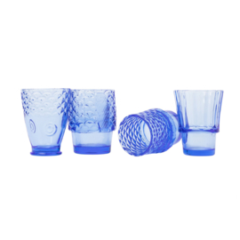 Stapelbare glazen - blauw