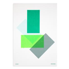 Solids & Strokes – Medium –Greens