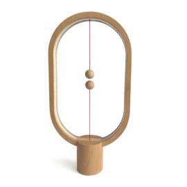 Balance lamp – wood