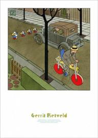 Poster Gerrit Rietveld, Joost Swarte