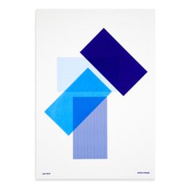 Solids & Strokes – Medium – Blues