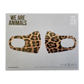 Mondkapje - We Are Animals