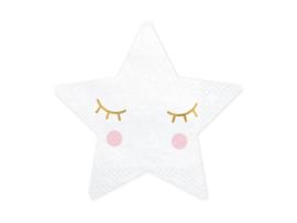 Servetten kleine ster (20 st)