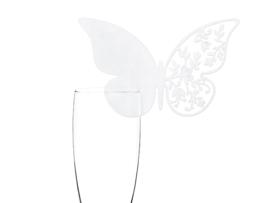 Vlinder glaskaartjes (modern)
