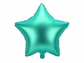 Ster ballon groen