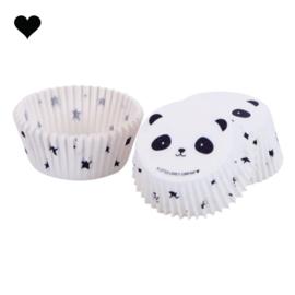 Panda cupcake bakjes
