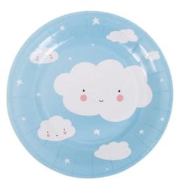 Wolken borden (12 st)