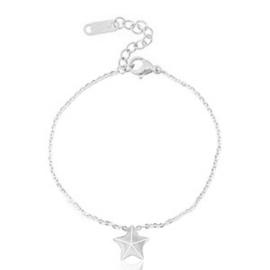 RVS armband met ster