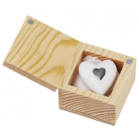 Hart in een doosje