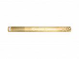 Confetti kanon gouden hartjes (60 cm)