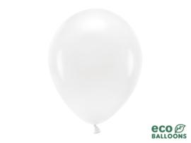 Eco ballonnen wit (6 st)