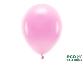 Eco ballonnen roze (6 st)
