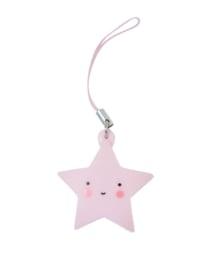 Hangertje ster (roze)