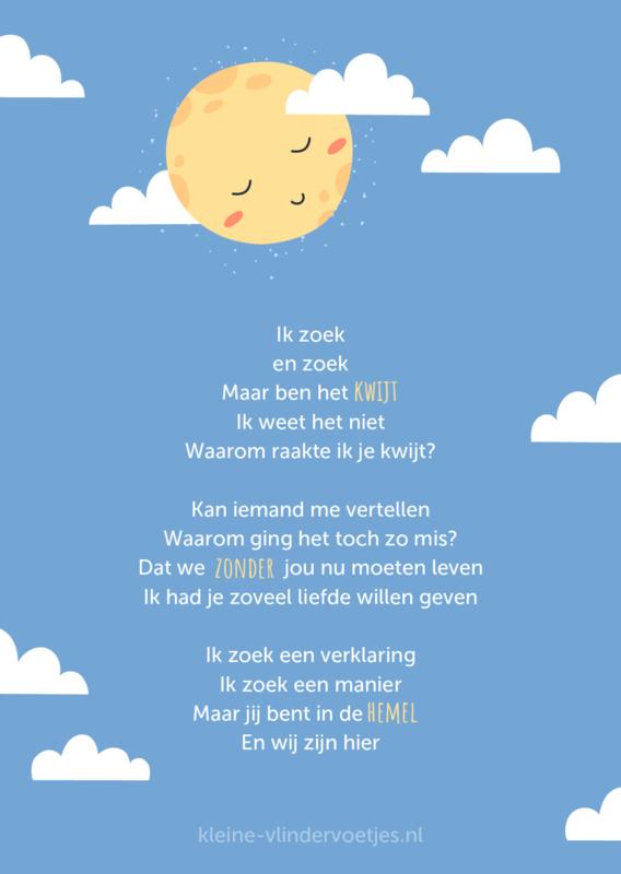 Poster 'Ik zoek'