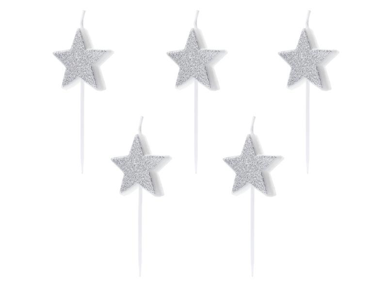 Mini-kaarsjes sterren