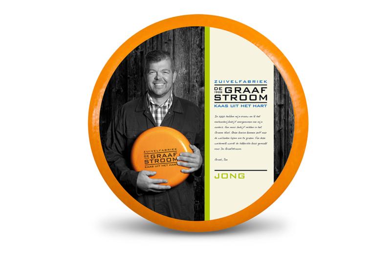 Graafstroom JONGE (GRAS)kaas 48+ 500 gram