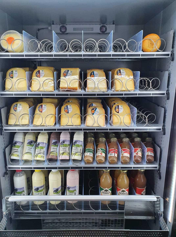 boerderijautomaat Maassen Homoet Hart voor Kaas