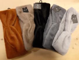 Zachte warme faux fur haarbanden