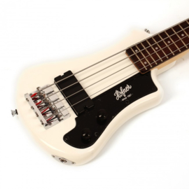 Shorty Bass Guitar - CT White