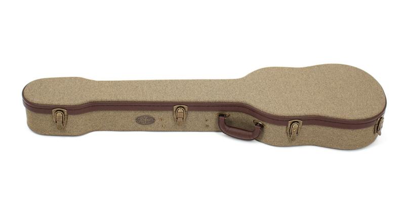H64/VB-V  Case for Violin Bass Vintage style finish
