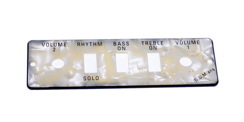Guitar/Bass Control Panel Plate HA2B-P
