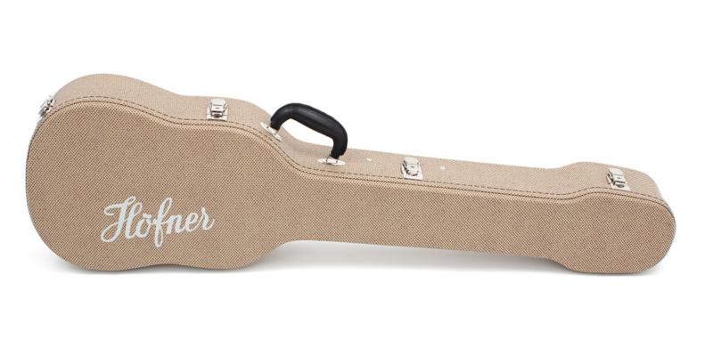 H64/VB-R  Koffer Violin Bass Tweed Style