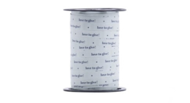 Lint 'love to give' oud groen (10 mm)