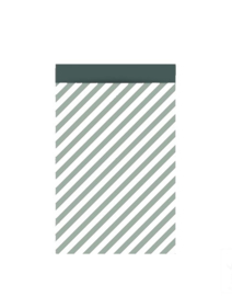 Stripe groen - 27 x 34