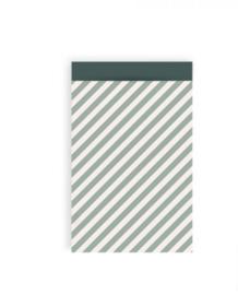 Stripe groen- 12 x 19