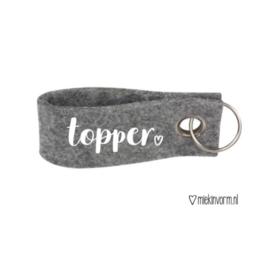 Sleutelhanger topper