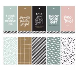 Set labels basic colour