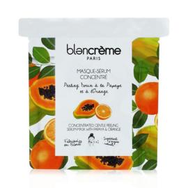 Zacht peeling masker papaja en sinaasappel