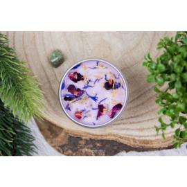 Kaars met edelsteen - Let Yourself Bloom - Jade
