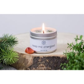 Herbal Candle - Keep Me Energized - Carneool