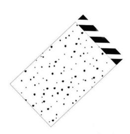 Stripes & dots - 12 x 19