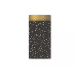 Stars zwart/goud - 7 x 13