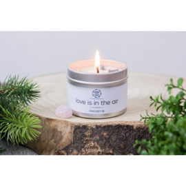 Herbal Candle - Love is in the Air - Rozenkwarts