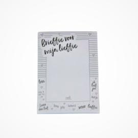Brieffie voor mijn lieffie (A6)