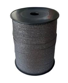 Lint glitter antraciet (10 mm)