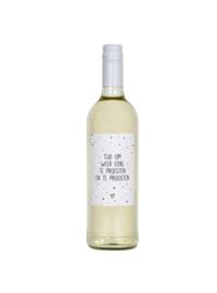 Fles etiket - Proesten en proosten