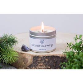 Herbal Candle - Spread Your Wings - Botswana Agaat