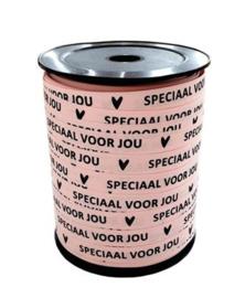 Lint 'speciaal voor jou' roze (10 mm)