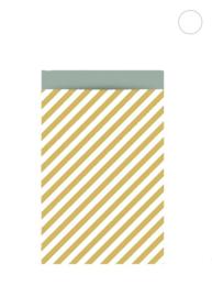 Stripe oker - 27 x 34