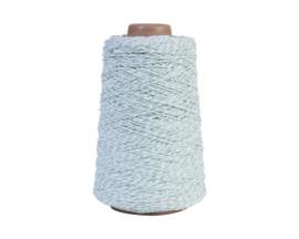 Koord mint / wit (2 mm)