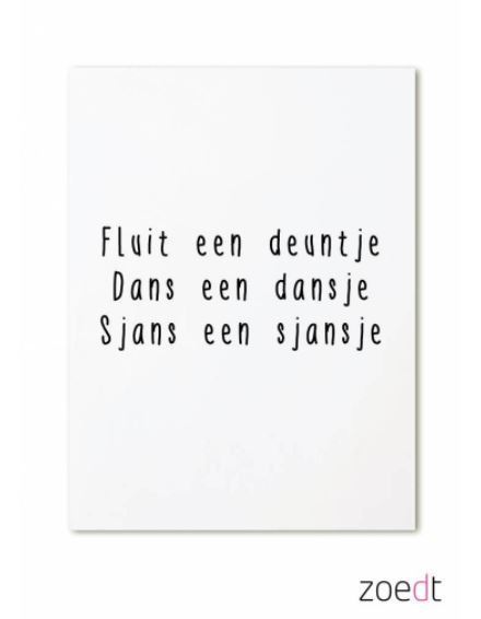 Ansicht - Dans een dansje