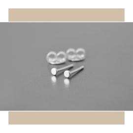 Minimalistische stekers plaatje 2,5mm