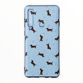 Telefoonhoesje teckel liefde Samsung A9 2018