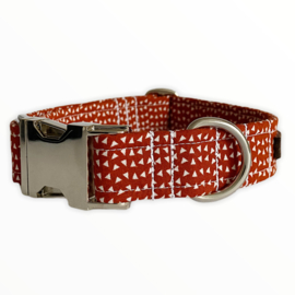 Halsband Rusty Red Maat M