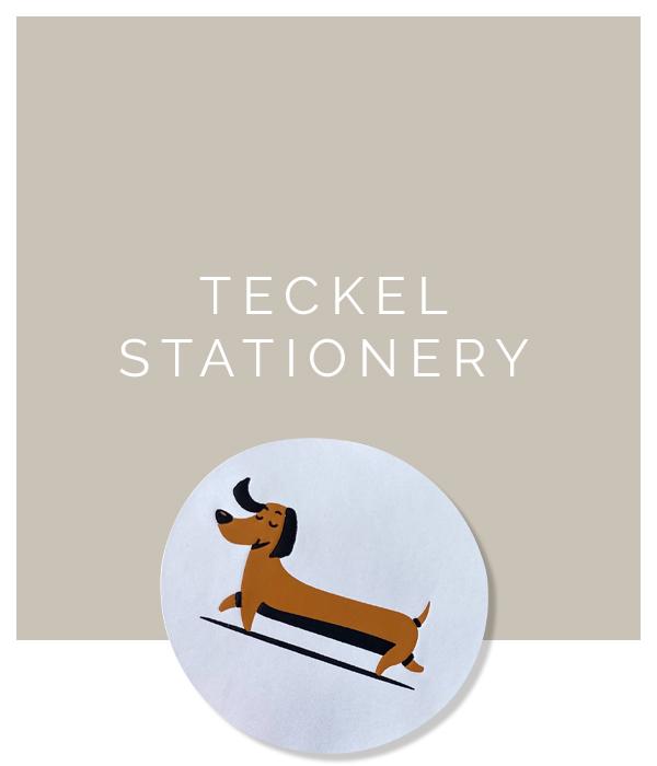 Teckel stationery, teckel wenskaarten, teckel inpakpapier | Jeppieteckel